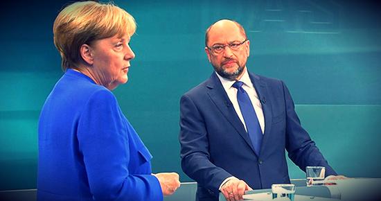 Almanya'da seçim öncesi Merkel ile Schulz'un katıldığı programa Türkiye tartışması damga vurdu. Schulz ''Başbakan olursam müzakereleri keserim'' dedi