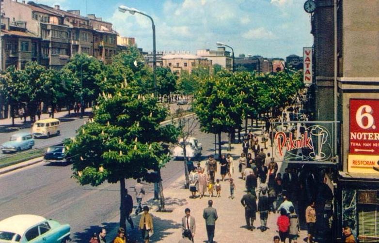 Atatürk Bulvarı, Ankara, 1965
