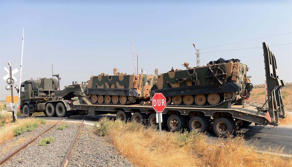 Bağımsızlık referandumu nedeniyle, Irak Kürt Bölgesel Yönetimi'ne sınırötesi operasyon düzenlenebileceği gündeme gelmişti.