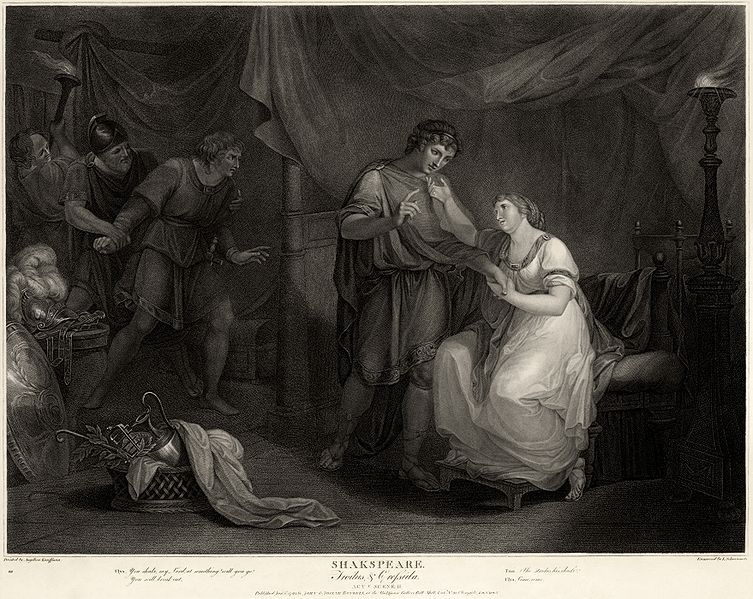 A Scene from Troilus and Cressida, Angelica Kauffmann