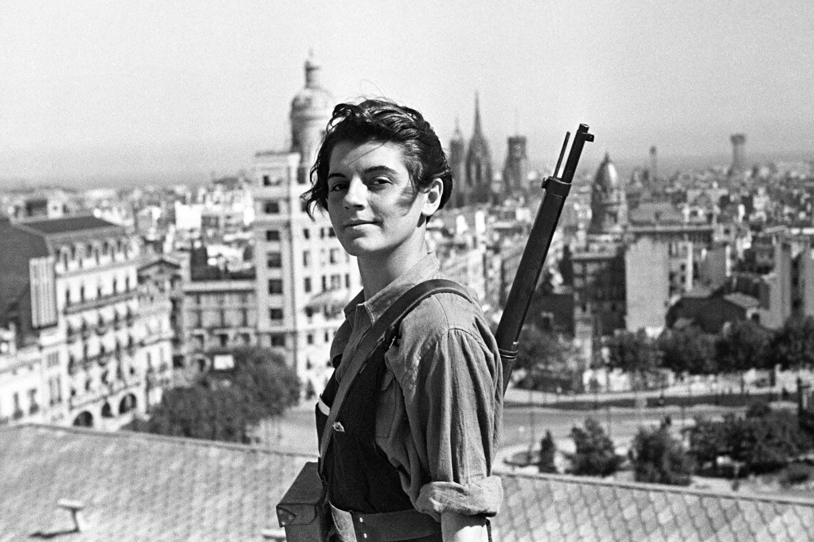 İspanya İç Savaşı'nın ikonik fotoğraflarından, Marina Ginestà