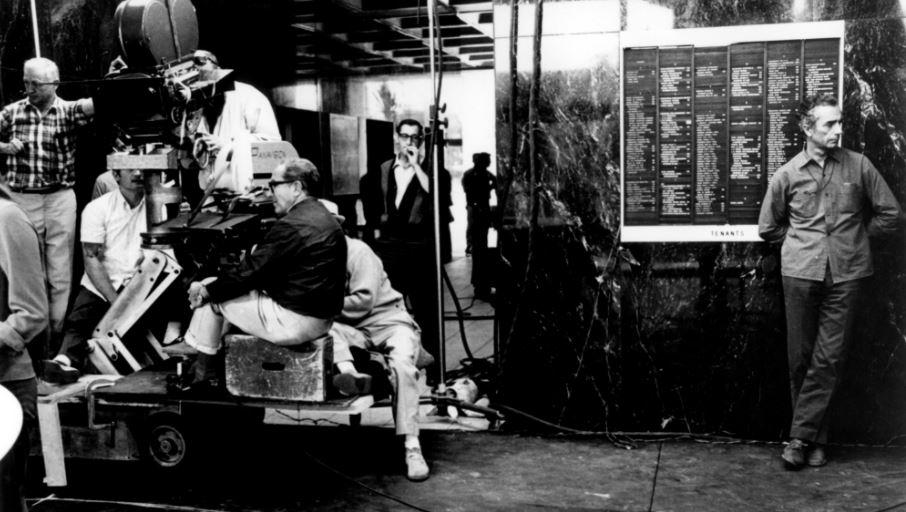 Blow-up filminin çekimleri, Michelangelo Antonioni