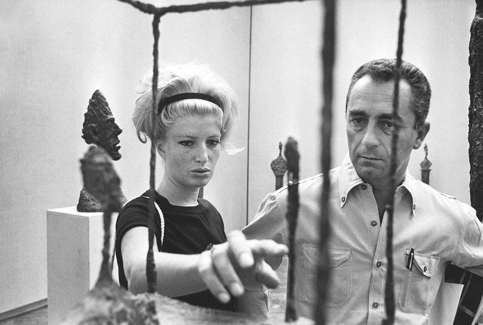 Monica Vitti ve Michelangelo Antonioni Venedik Bienali'nde, 1962