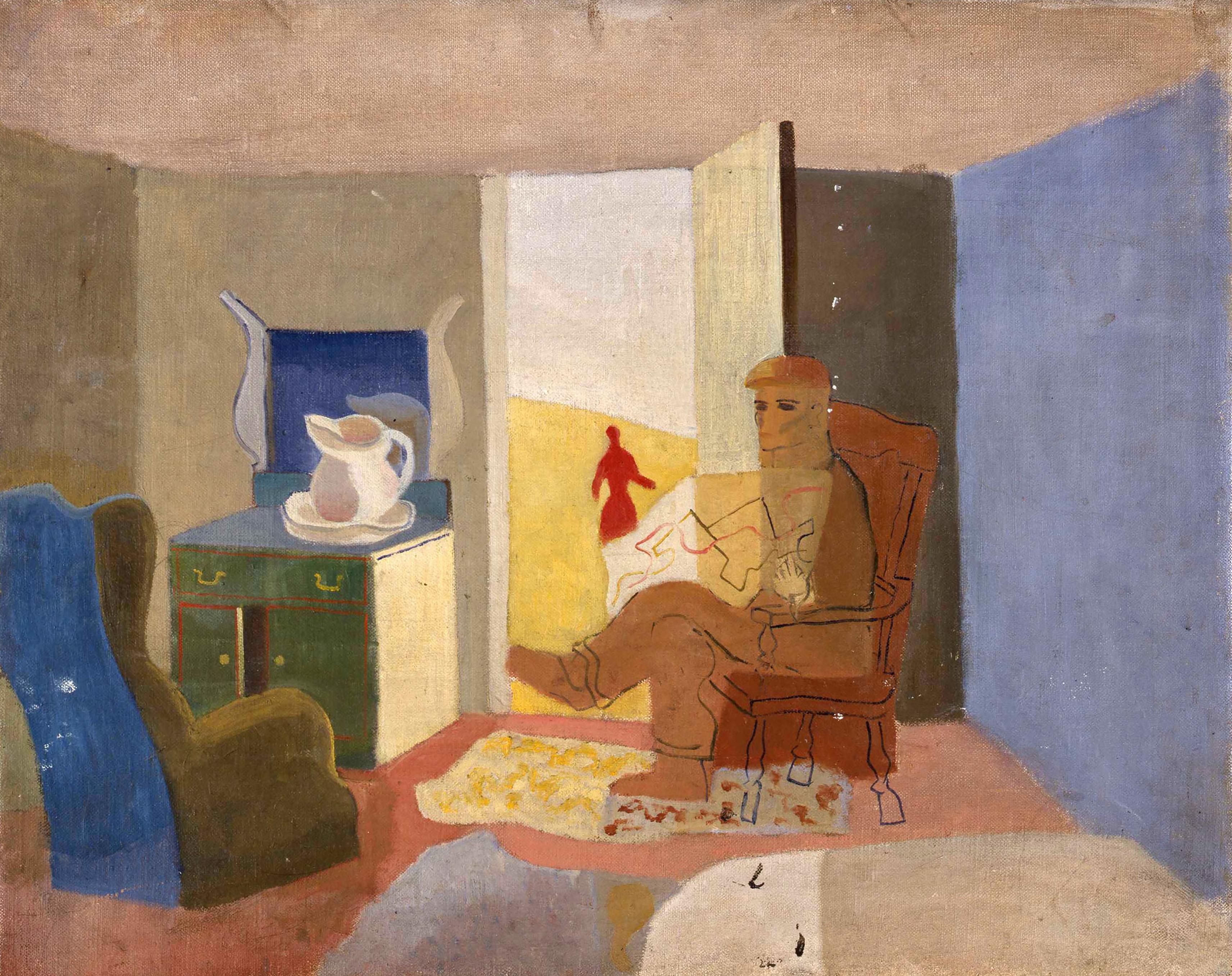 Kabinde, Kanada, 1938 Tuval üzerine yağlıboya, Sue Ann Kahn Koleksiyonu
