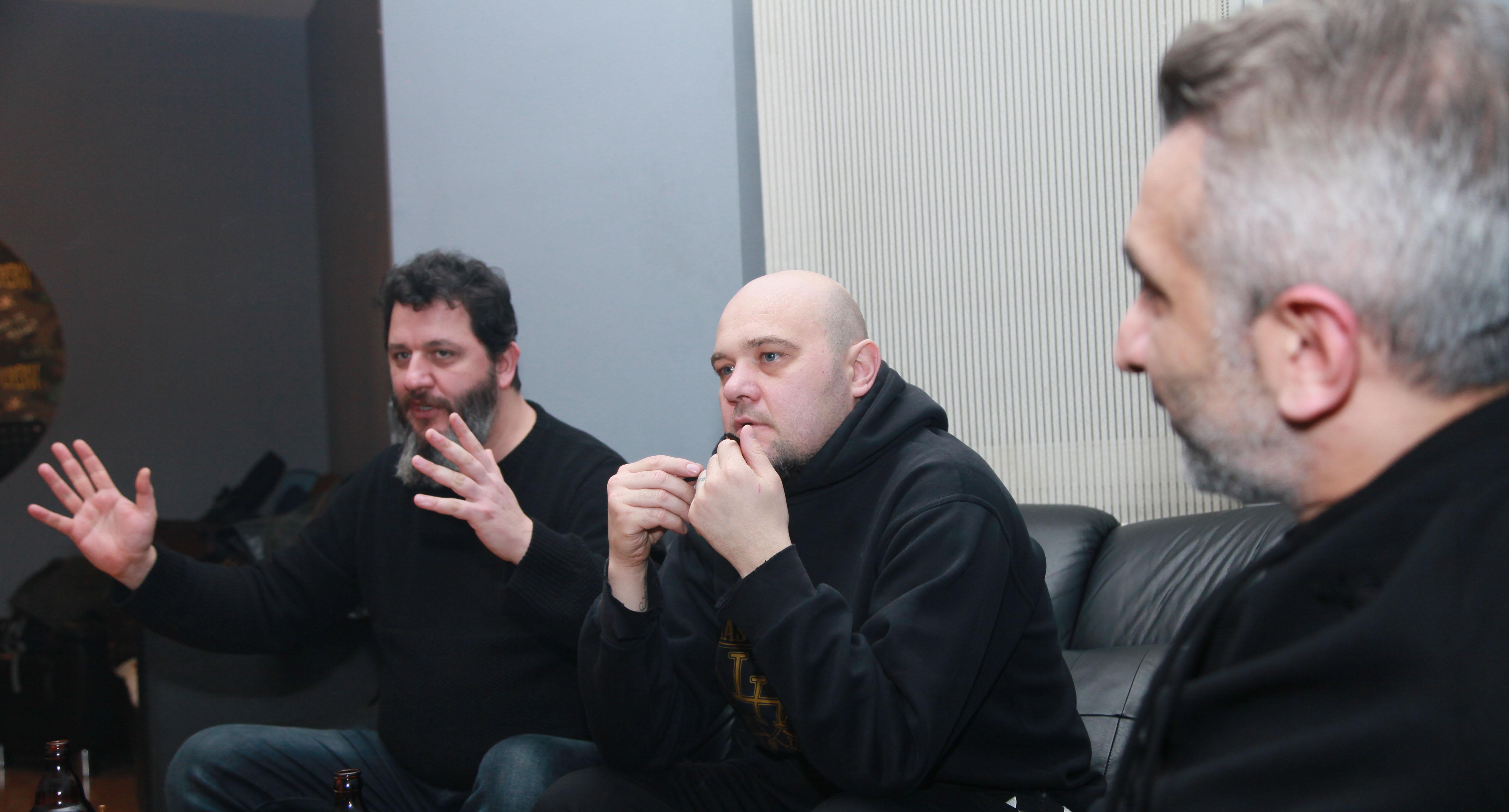 Soldan Sağa: Cenk Turanlı, Tanju Can, Atilla Tutumlu