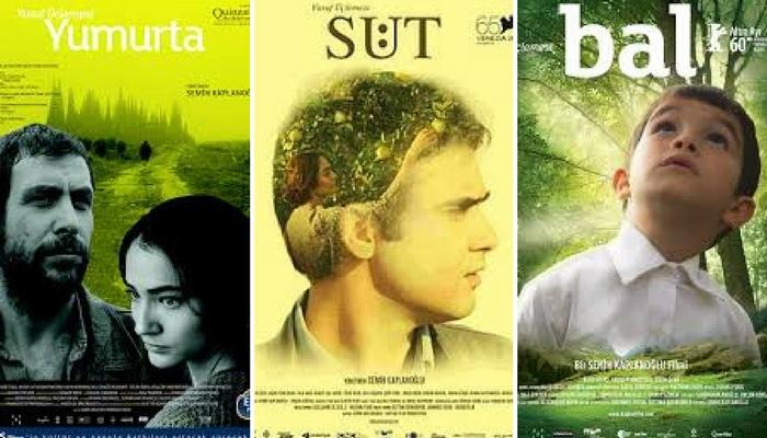 Yusuf Üçlemesi, Yumurta (2007), Süt (2008), Bal (2010), Yön.: Semih Kaplanoğlu