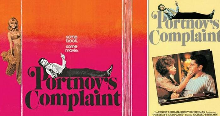 Portnoy'un Feryadı'nın film uyarlamasının posterleri, Yön.: Ernest Lehman, 1972