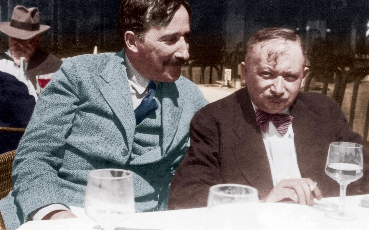 Stefan Zweig ve Joseph Roth.