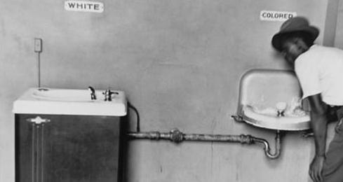 Kuzey Karolina'da lavabolar, foto Elliott Erwitt
