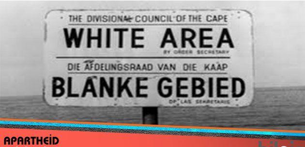 Siyah ve beyazların bölgelerini gösterir levha