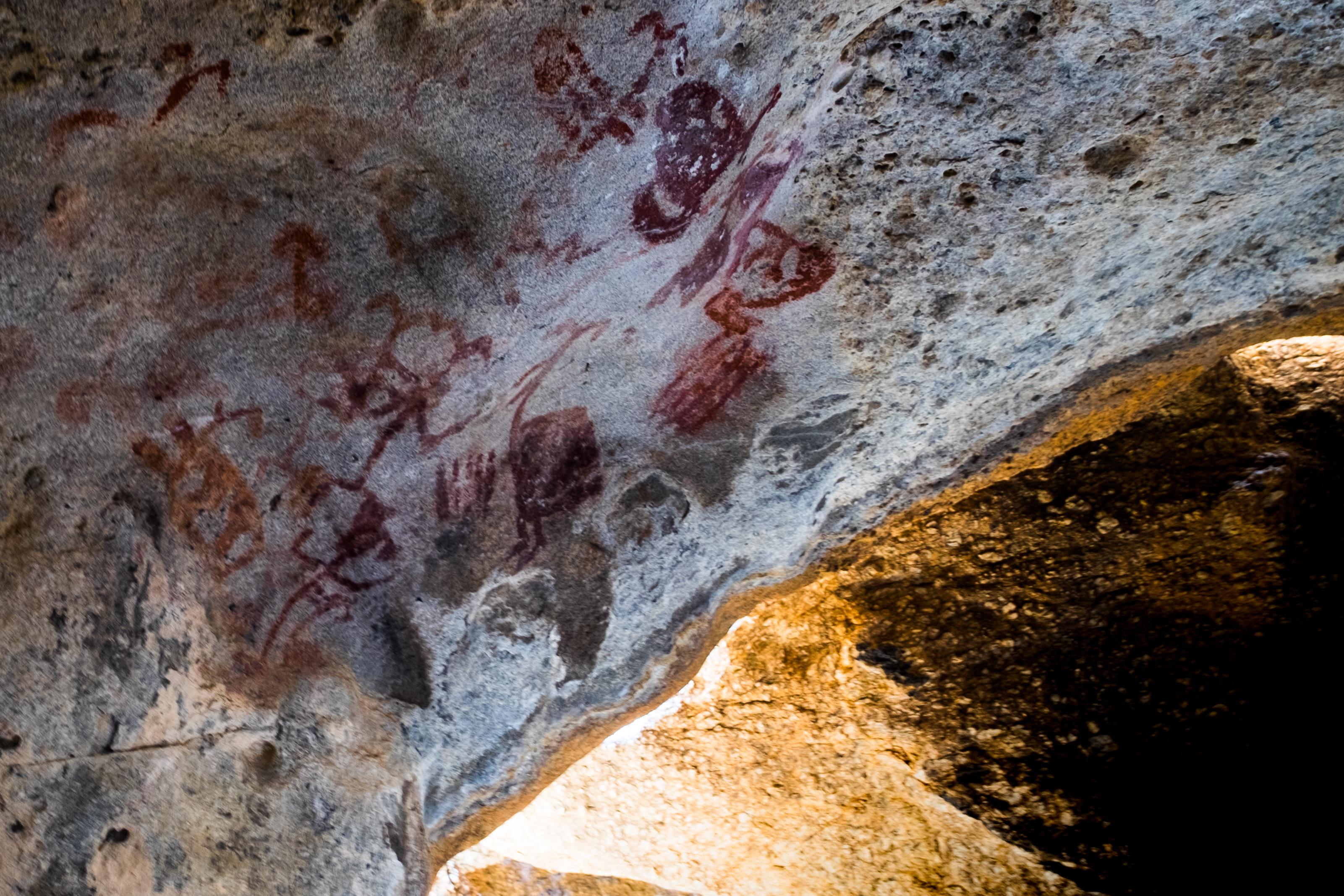 Beşparmak (Latmos) Dağları'ndan tarih öncesi kaya resimleri, yaklaşık M.Ö. 6000-5000