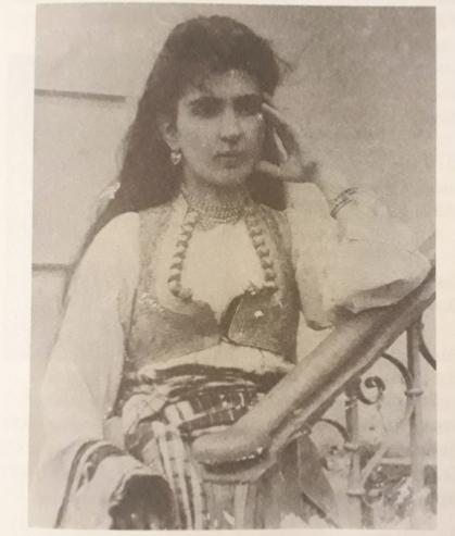 Oya Baydar'ın babaannesi Melek Hanım