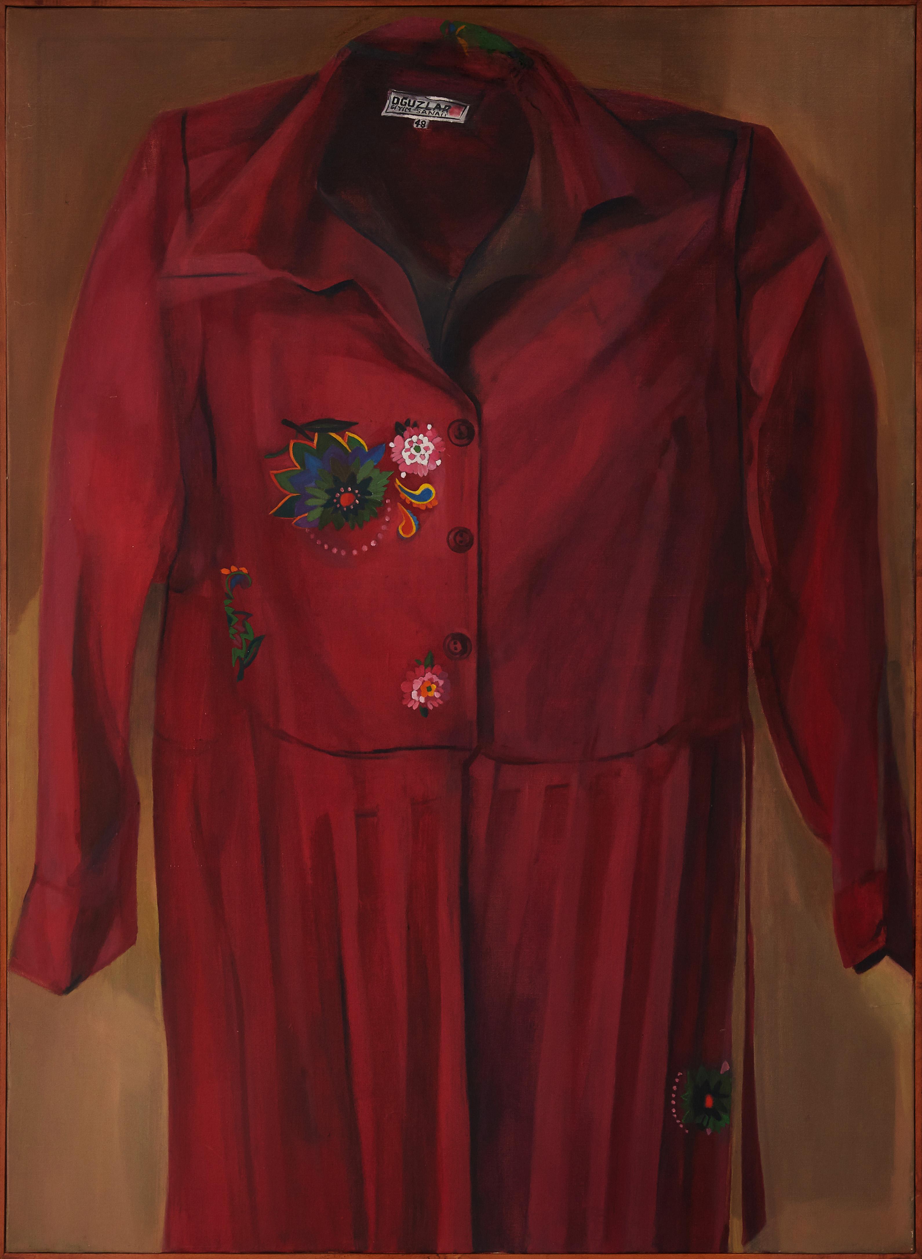 Ipek Duben - Şerife 3, 1980 Tuval uzerine yağlıboya 110x80 cm Sanatçı ve Pi Artworks