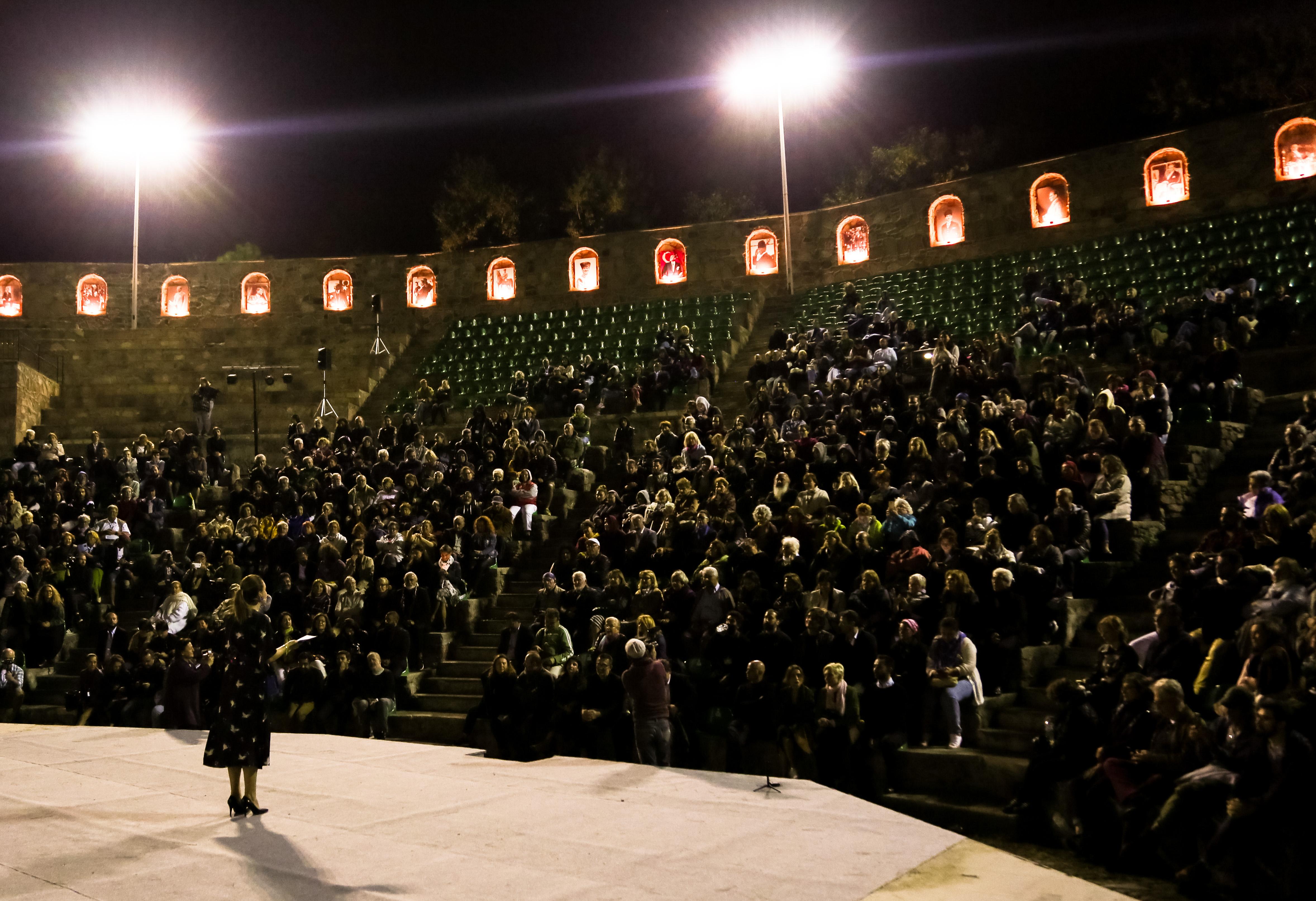 Başka Sinema Ayvalık Film Festivali açılış gecesi