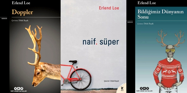Turkish editions of Erlend Loe's books