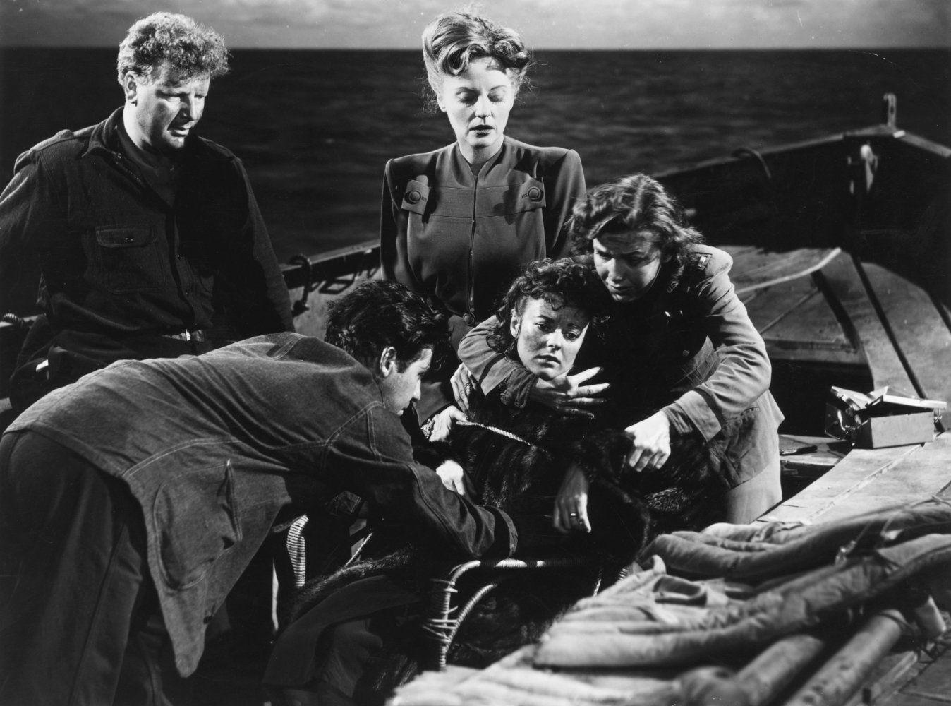 Lifeboat, Yönetmen: Alfred Hitchcock, 1944