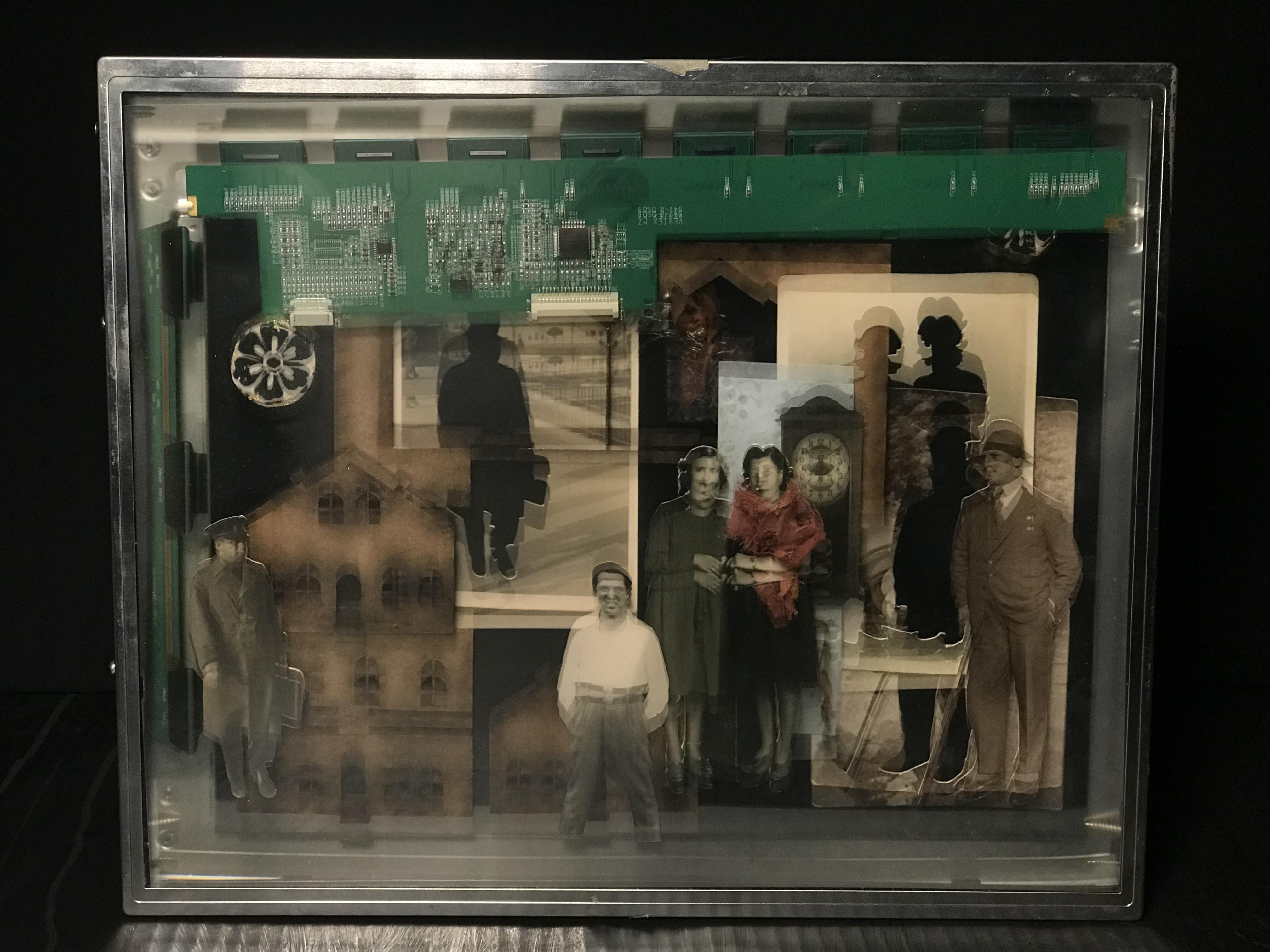 Ayşecan Kurtay, LCD ekran içi yerleştirme, 2017