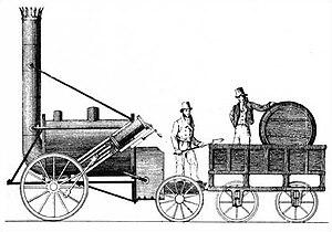 Dünyanın ilk treni 1825