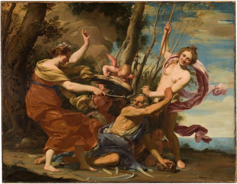 Simon Vouet, 'Umut, Aşk ve Güzellik'in Yendiği Zaman' (Kaynak: Museo del Prado)
