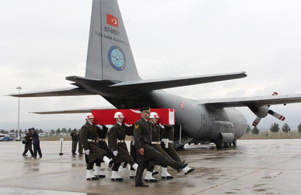 Kazada hayatını kaybeden pilotlar dün toprağa verildi