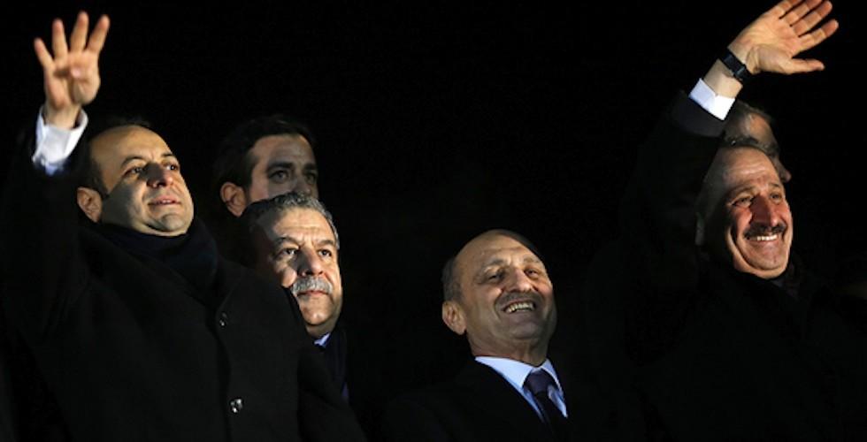 17 Aralık sürecinde hükümetten istifa etmek zorunda kalan Egemen Bağış, Muammer Güler, Erdoğan Bayraktar ve Zafer Çağlayan hakkında Yüce Divan yolu kapanmak üzere
