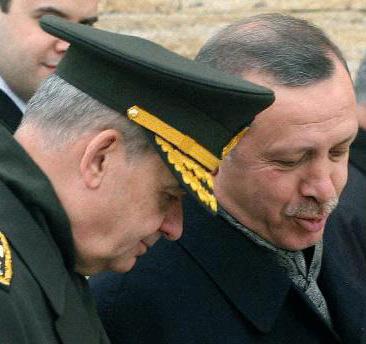 Sene 2004. Erdoğan'dan Başbuğ'a: Üyelik müzkereleri  için tarih alamazsak B planını devreye sokarız. Olmazsa, Rusya ile görüşüyoruz