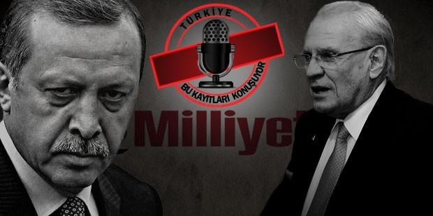 Milliyet'in patronu Erdoğan Demiören, 'İmralı zabıtları' haberi için telefonda 'Üzdüm mü seni patron' dediği Erdoğan'dan 'Rezillik, namussuzluk, ahlaksızlık' yanıtı alınca ağlamıştı