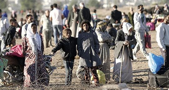 Suriye'deki iç savaş ve IŞİD teröründen kaçan yaklaşık 1,5 milyon insan Türkiye'ye sığındı