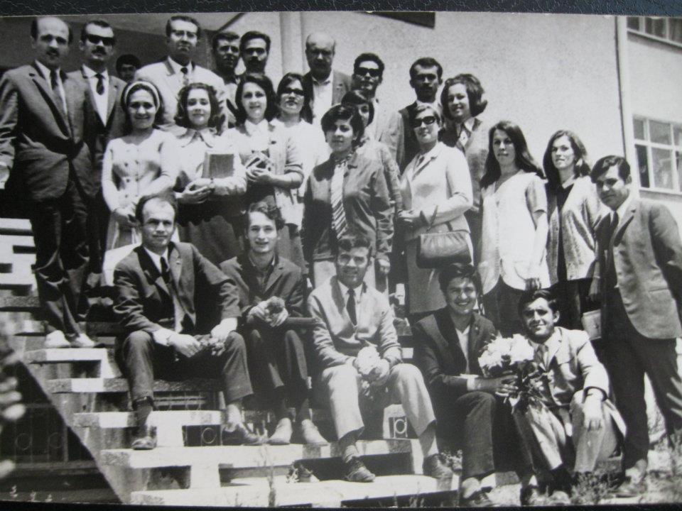 Soma Linyit Lisesi 1968-69 yılı ilk öğretmen kadrosu birlikte...