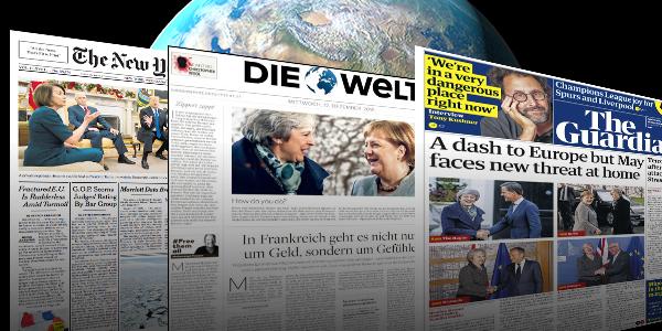 """T24 HABER MERKEZİ   METİN KAAN KURTULUŞ - Britanya'nın gündeminde milyarder iş adamın Philip Green'e yöneltilen cinsel taciz ve ırkçı söylem suçlamaları var. ABD basını ise Kongre'de yapılan """"Sınır duvarı"""" tartışmalarını ilk sayfalarına taşıdı. Avrupa basınının ilgisini çeken bir başka konu ise Trump- Kim Jong-Un görüşmesinin Vietnam'da yapılacak olması oldu. Ayrıca birçok gazete milyarder Jeff Bezos'un kendisine """"şantaj"""" yapıldığı söylemini ilk sayfasına taşıdı."""