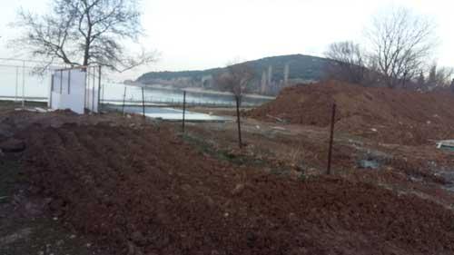 eğirdir gölü inşaat