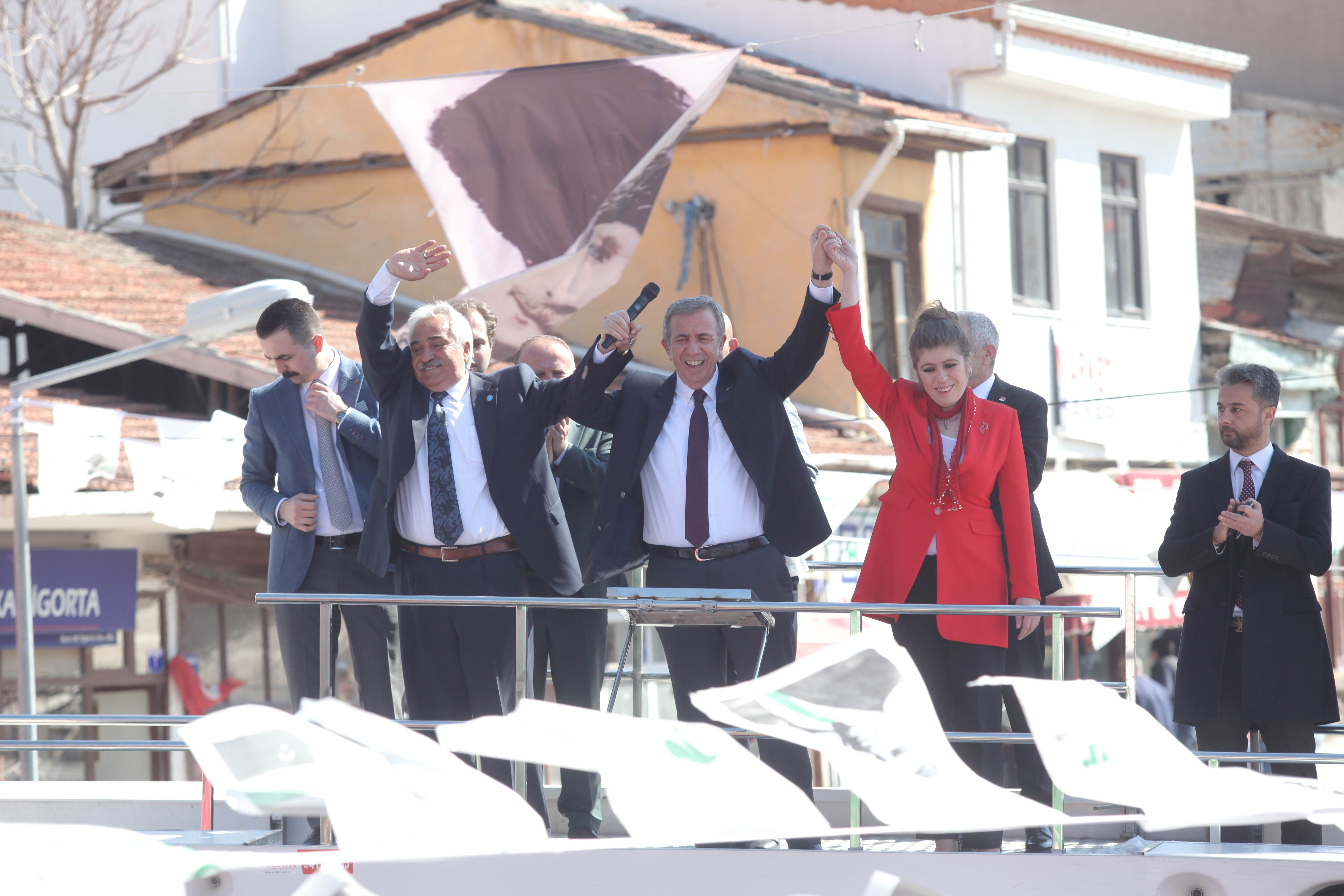Mansur Yavaş: En az 10 puan farkla Ankara'yı alacağız