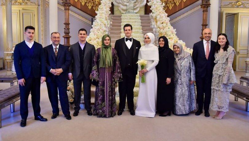 Murat Ülker ve Fettah Tamince'nin çocukları evlendi; düğün Dubai'de