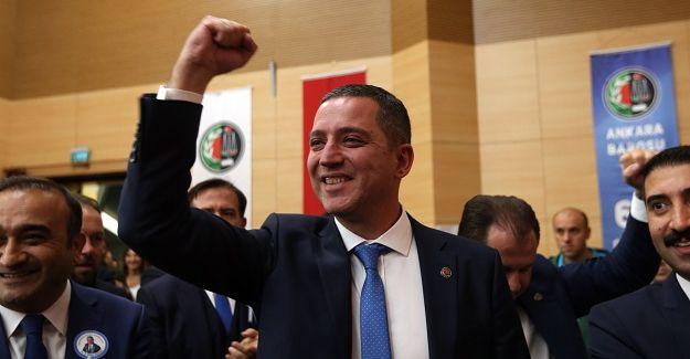 Ankara Barosu seçimleri sonuçlandı: Erinç Sağkan yeniden başkan seçildi