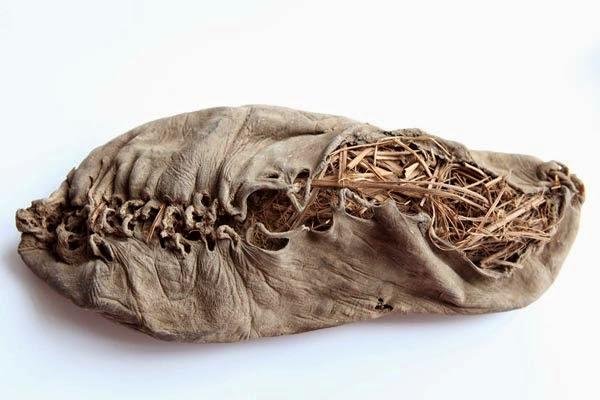 Beş bin beş yüz yaşındaki bu ayakkabı tasarımında da estetiğin izleri var