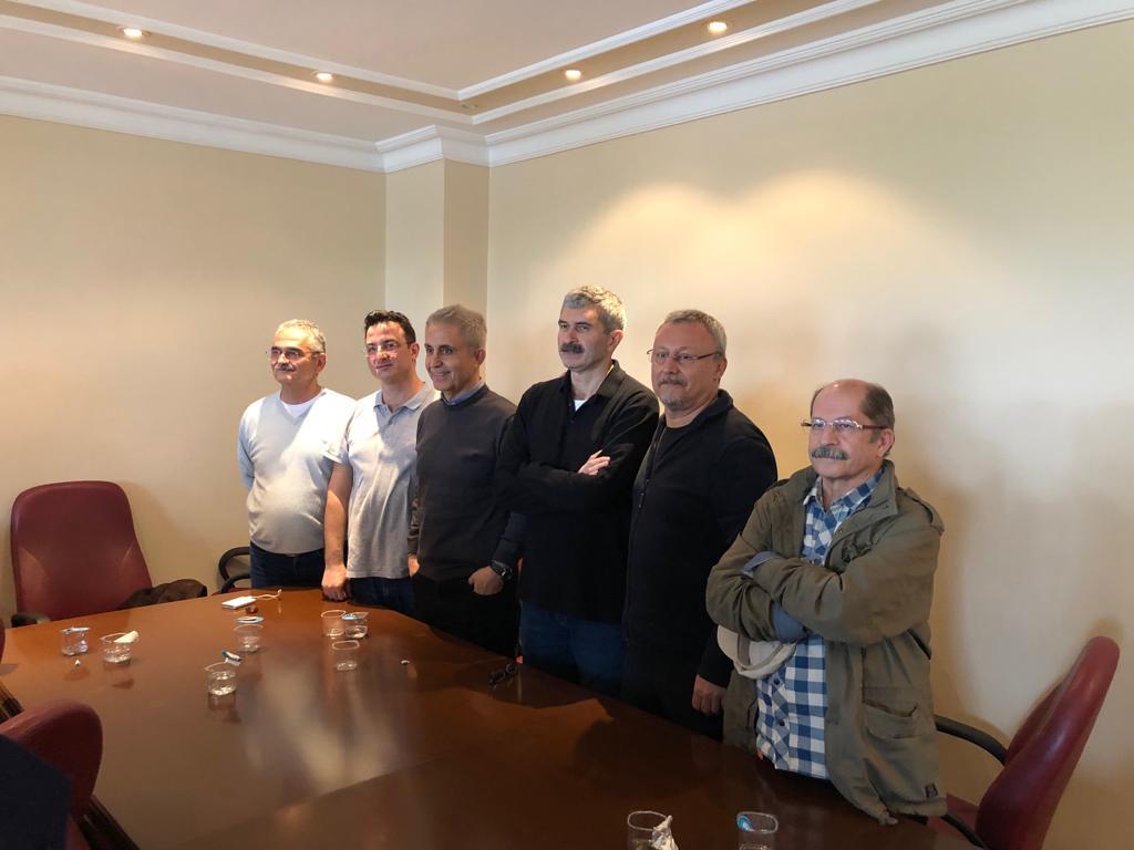 Kandıra Mapushanesinin yeni sakinleri: (Soldan sağa) Önder Çelik, Emre İper, Musa Kart, Mustafa Kemal Güngör, Hakan Kara, Güray Öz