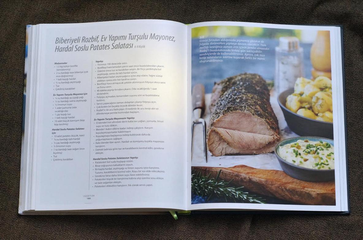 SIR hem estetik olarak, hem de tarif zenginliğiyle son yılların en iyi yemek kitaplarından..