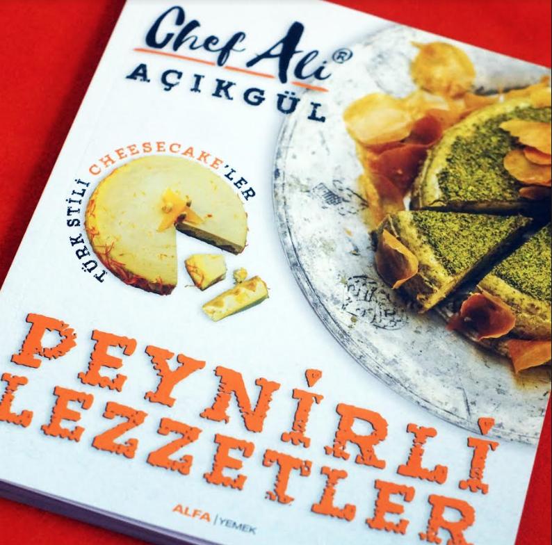 Peynirli Lezzetler, alanındaki ilk Türkçe kitap