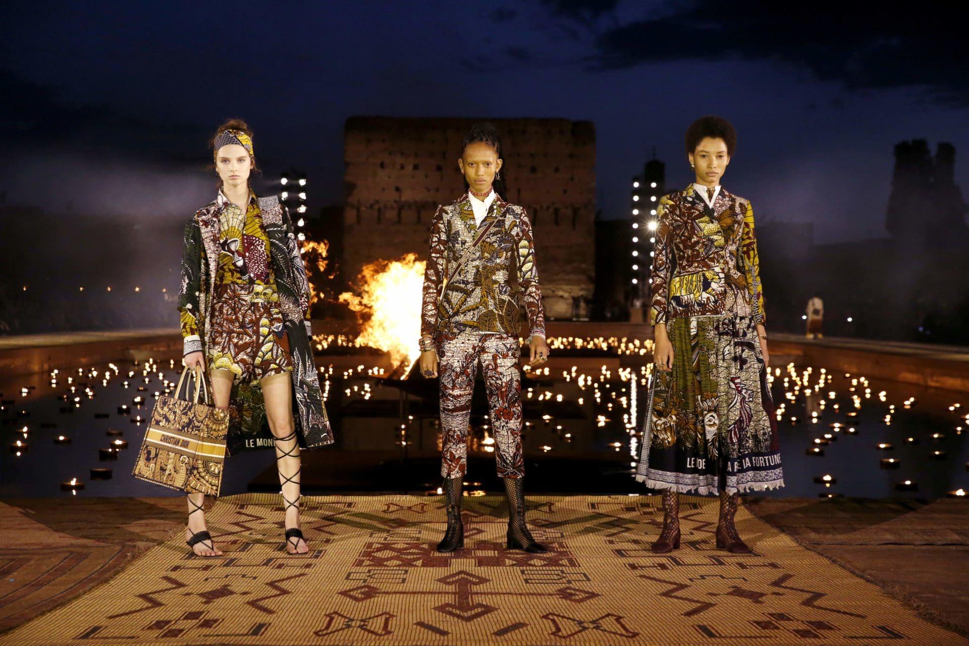 Dior Cruise 2020 defilesi Marakeş El Badi sarayında sunuldu