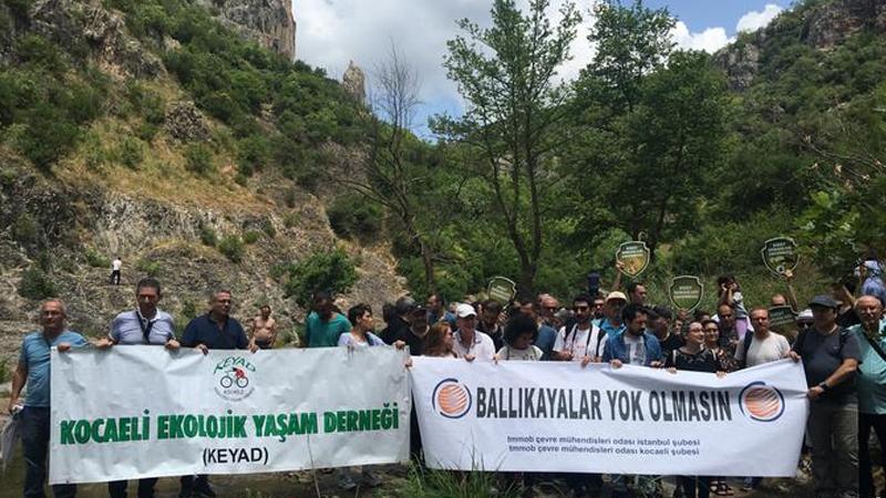 Sivil toplum kuruluşları: Ballıkayalar'a dokunmayın