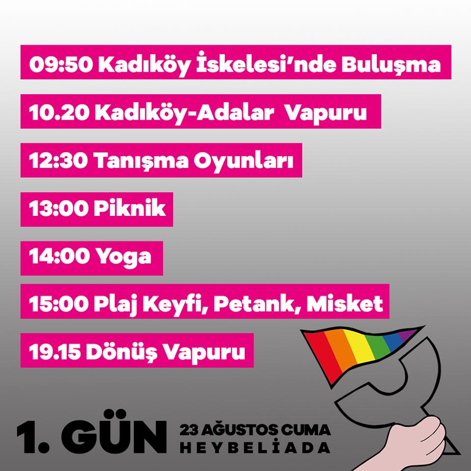 Queer Olympix 1. gün