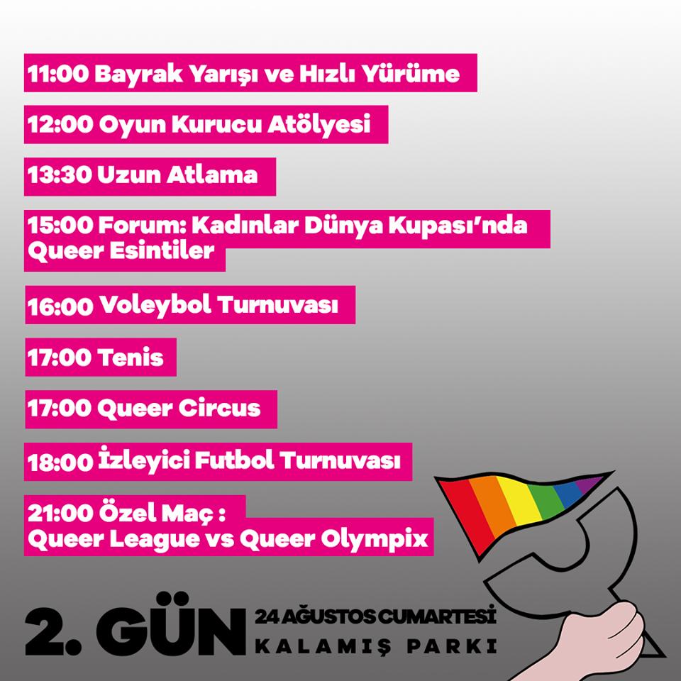 Queer Olympix 2. gün
