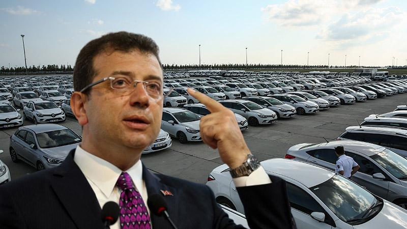 """İmamoğlu, Yenikapı'daki """"araç sergisi"""" ile ilgili açıklama yaptı"""