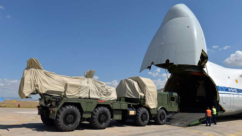 S-400 Uzun Menzilli Bölge Hava ve Füze Savunma Sisteminin İkinci Batarya Malzemelerinin İntikali Tamamlandı
