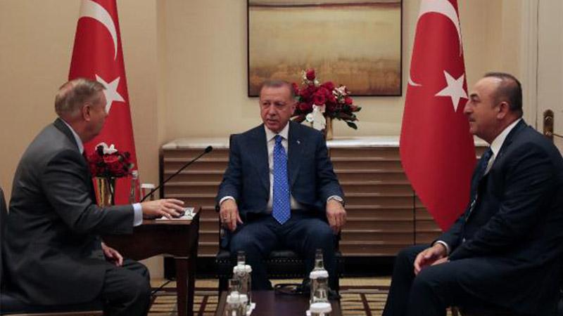Cumhurbaşkanı Erdoğan, ABD'li Cumhuriyetçi Senatör Graham ile görüştü