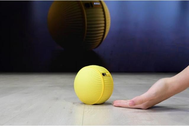 Samsung Ballie   Samsung'un bir top şeklinde tasarlanan akıllı ev cihazı ve 'robot arkadaş' konseptli ürününde kameralar ve sensörler bulunuyor. Evde insanları adım adım takip eden aynı zamanda temel ev komutlarını yerine getiren cihaz güvenlik için de evde kimse olmadığı anlarda fotoğraflar çekerek kişilere yollayabiliyor. Ürünün aynı zamanda spor antrenörü özelliği bulunuyor.