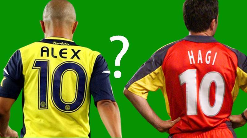 """Gençlik ve Spor Bakanı Kasapoğlu'ndan """"Hagi mi, Alex mi?"""" anketi"""