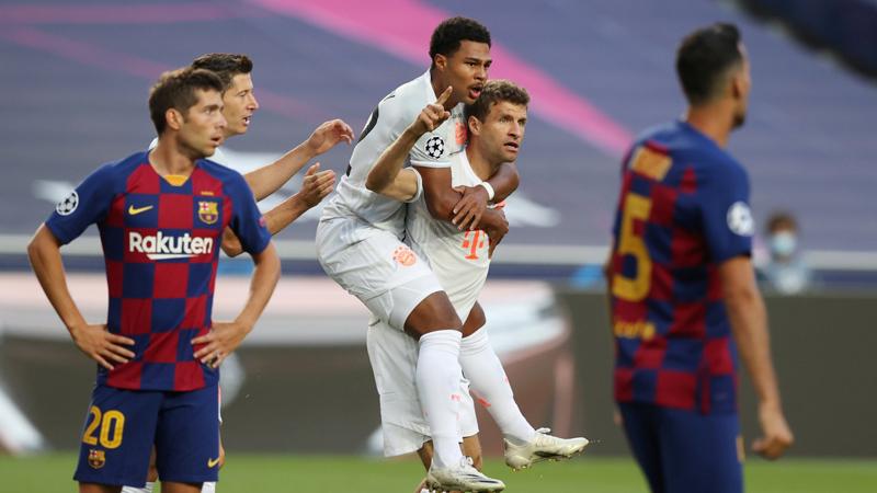 Bayern Münih'ten Barcelona karşısında 8 gollü tarihi zafer!