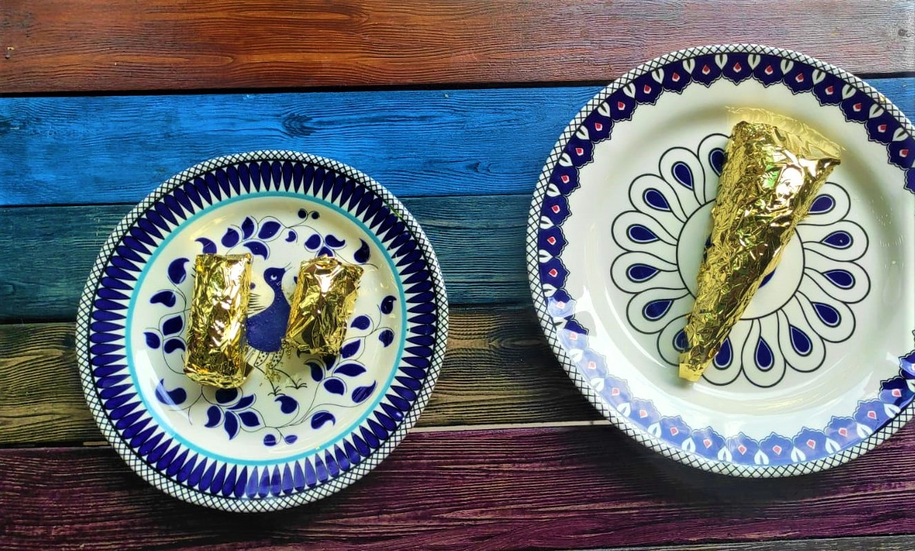 Baklavacı Argün Gürol, 24 ayar saf altın ile kaplı baklava yaptı. Altın kaplamalı baklavanın dilimini 550 lira olarak belirleyen Gürol, amaçlarının, baklavaya olan değeri göstermek olduğunu dile getirdi.