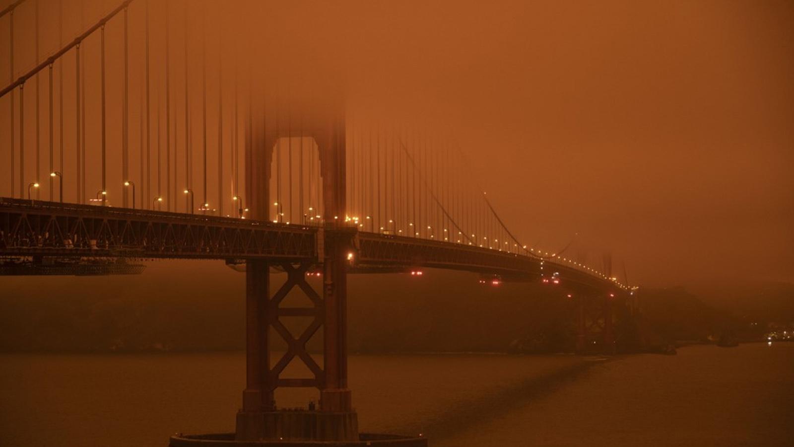 Orman yangınları ABD'yi duman boğdu; dört şehirde hava kalitesi dünyanın en  düşük ilk 10'una girdi